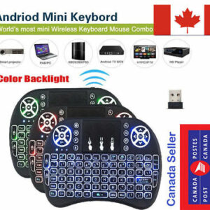 android tv Canada, , Android TV Box Mini Wireless Remote Control Keyboard for Smart TV XBMC PS4 PS3 , 14.99