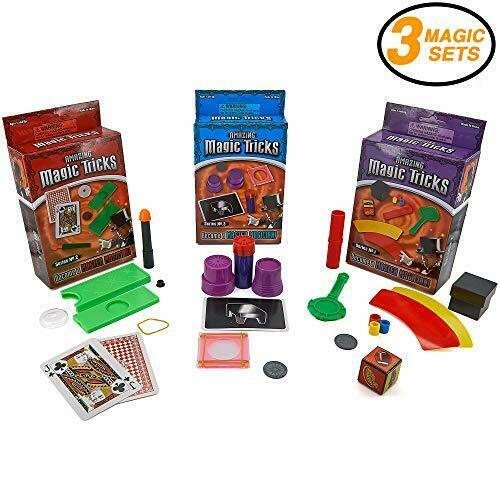 Srenta Amazing Magic Trick Set, Fun Magic Equipment, Wand, Easy Magic Tricks for