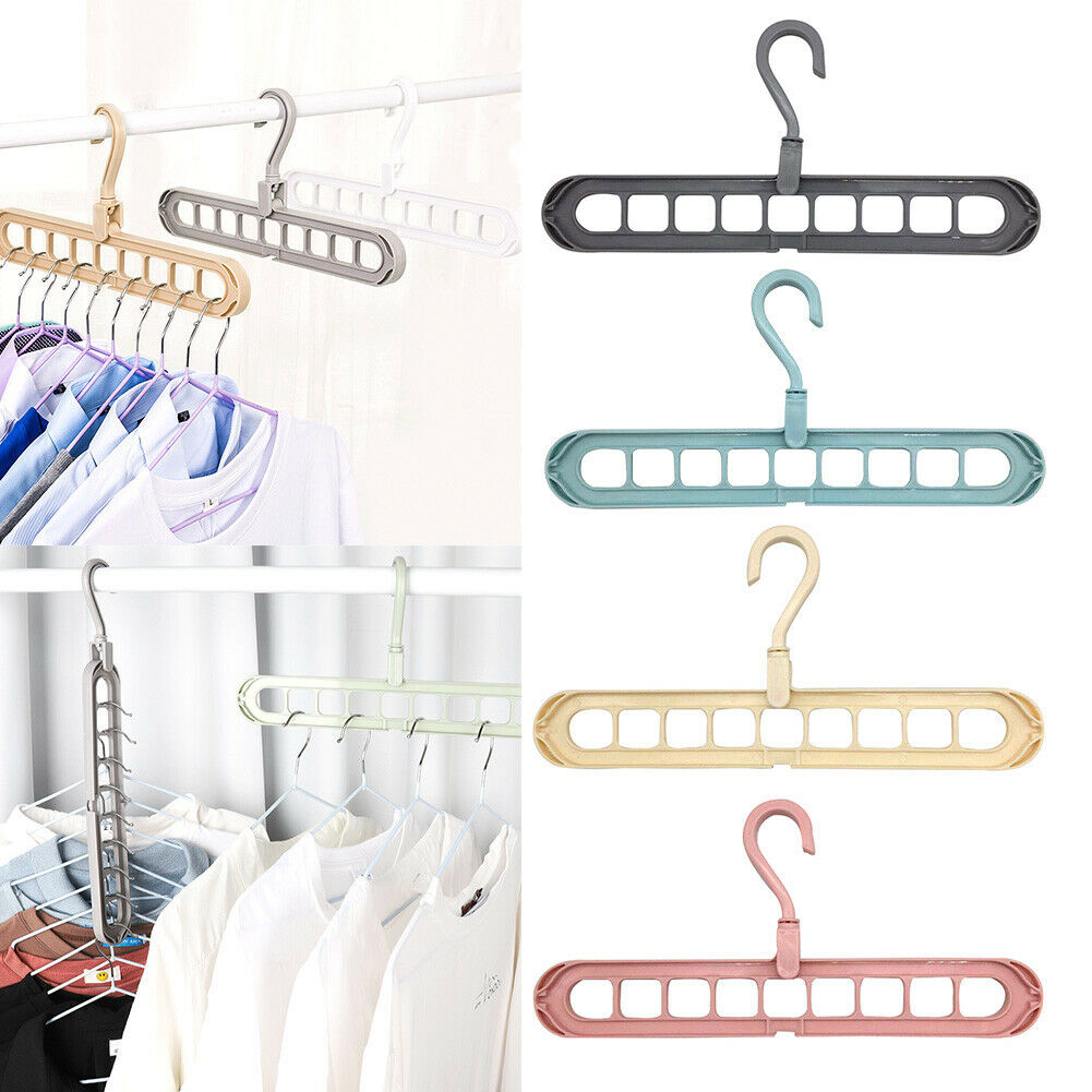 Multi-Functional Hanger Magic Non-slip Clothes Stand Suitable For All Clothes