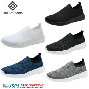 DREAM PAIRS Men's Slip on Loafer Breathable Fashion Sneakers Sport Walking Shoes