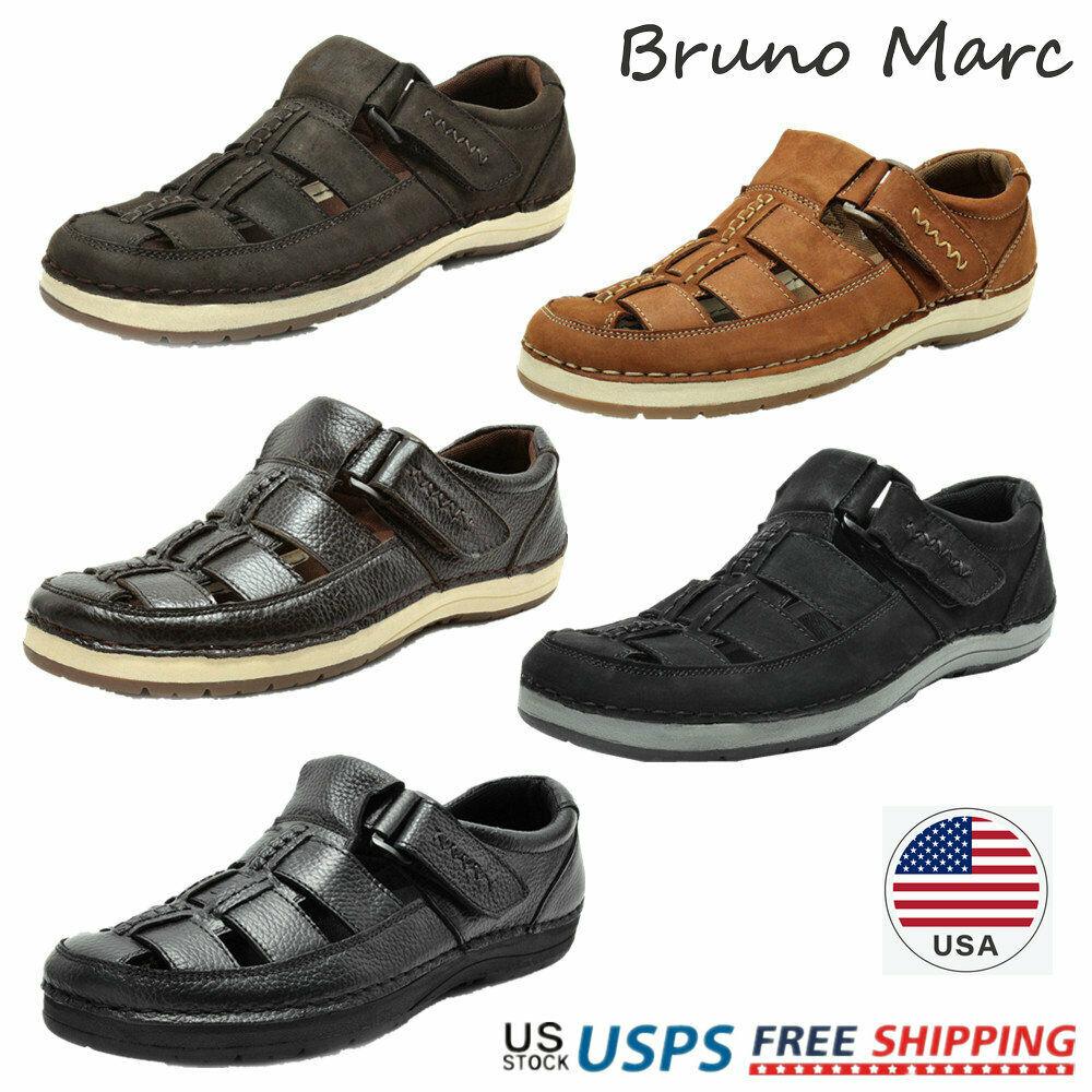 Bruno Marc Mens Outdoor Fisherman Sports Sandals Summer Beach Walking Shoes