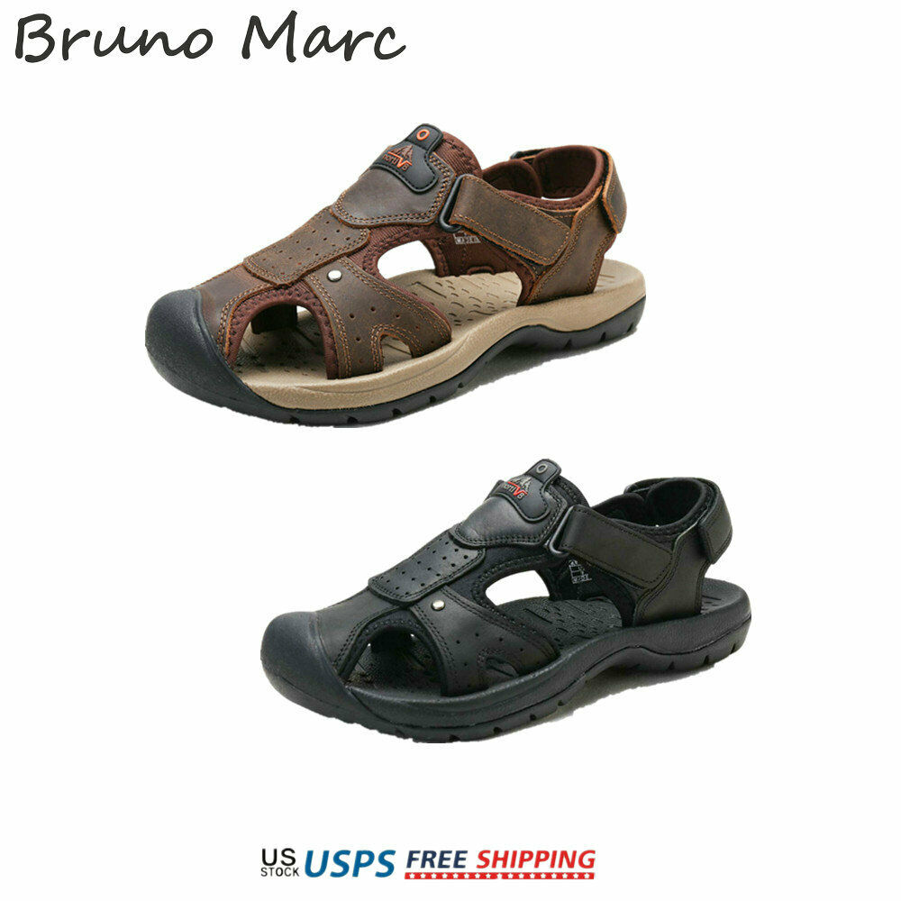 Bruno Marc Mens Sports Sandals Outdoor Fisherman Beach Walking Shoes Water Shoes
