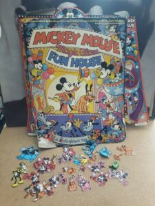 Vintage Mickey Mouse Magic Glow Funhouse