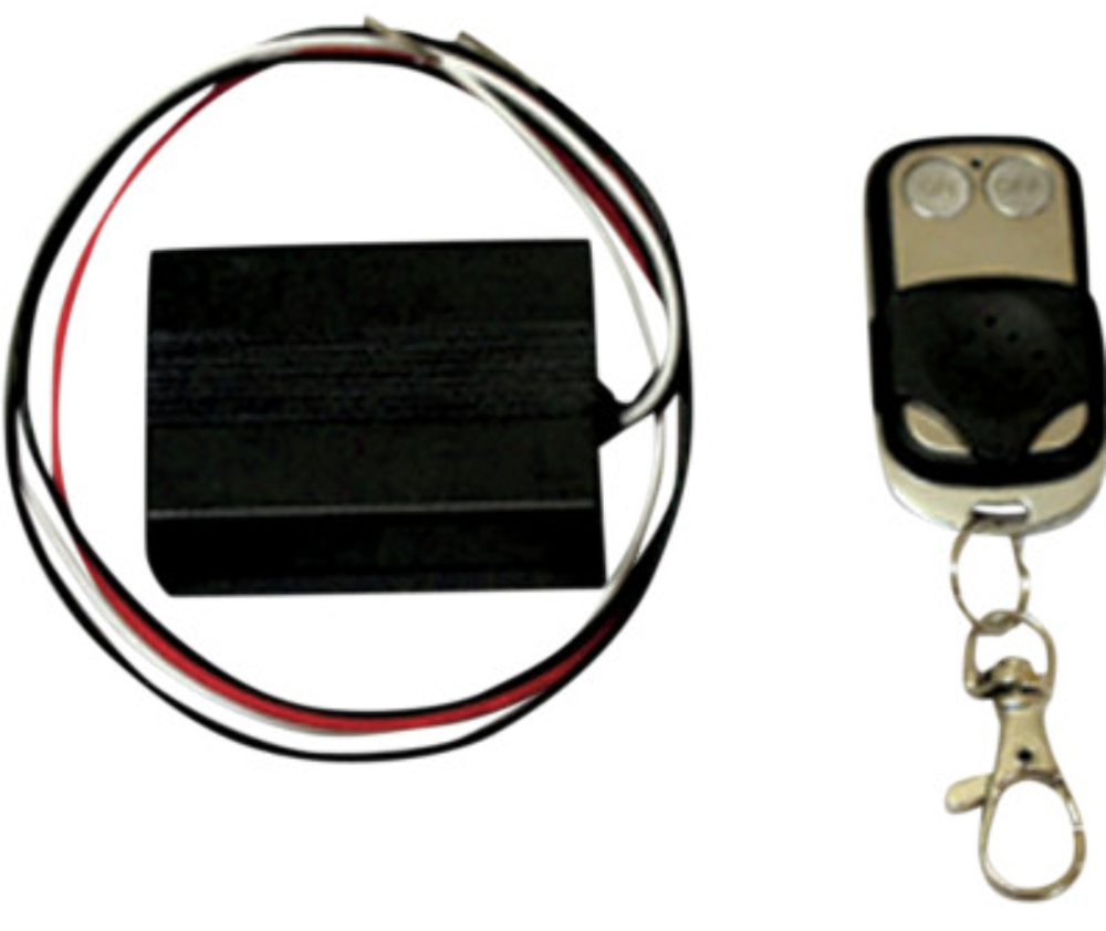 Custom Dynamics Just Magic On/Off Two Function Wireless Remote for Harley Lights