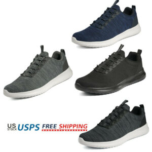 Men's Lightweight Casual Walking Shoes Sport Running Athletic Sneakers