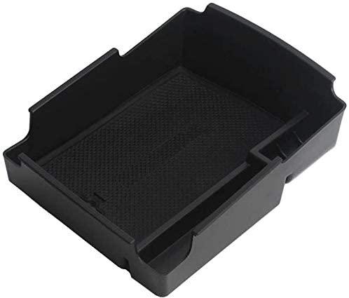 Vesul Armrest Secondary Storage Box Glove Pallet Center Console Tray Fits on Hyundai Elantra 2017 2018 2019 2020