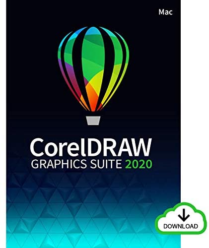 CorelDRAW Graphics Suite 2020   Graphic Design, Photo, and Vector Illustration Software   Education Edition [Mac Download]