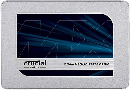 Crucial MX500 500GB 3D NAND SATA 2.5 Inch Internal SSD, up to 560MB/s – CT500MX500SSD1