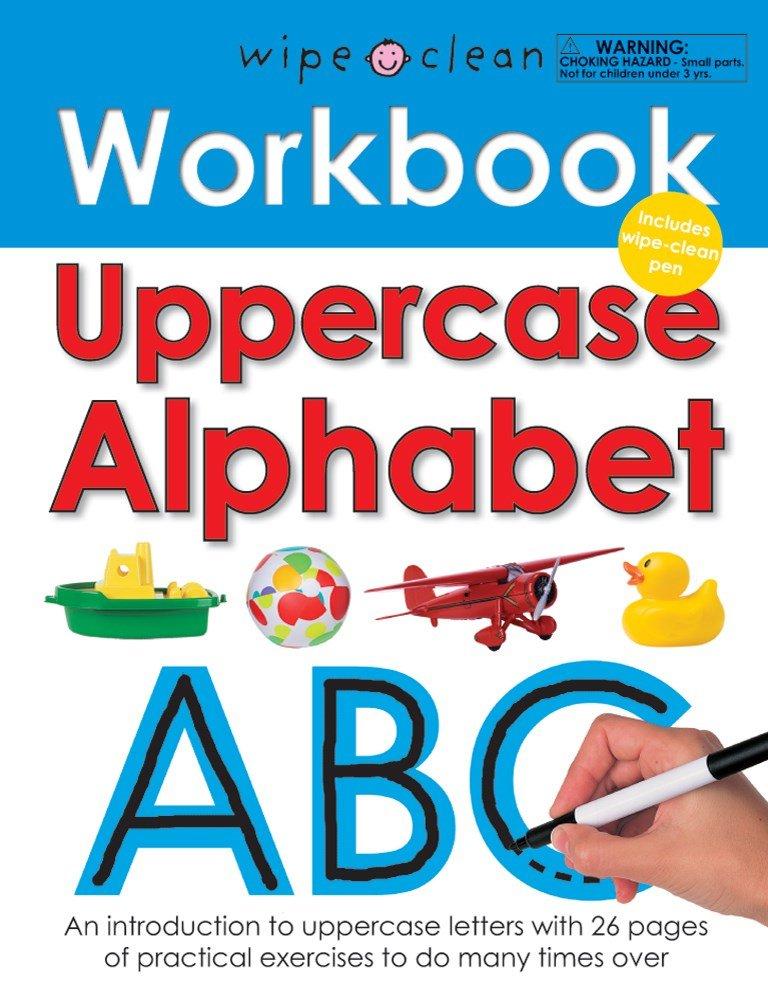 Wipe Clean Workbook Uppercase Alphabet (Wipe Clean Learning Books)