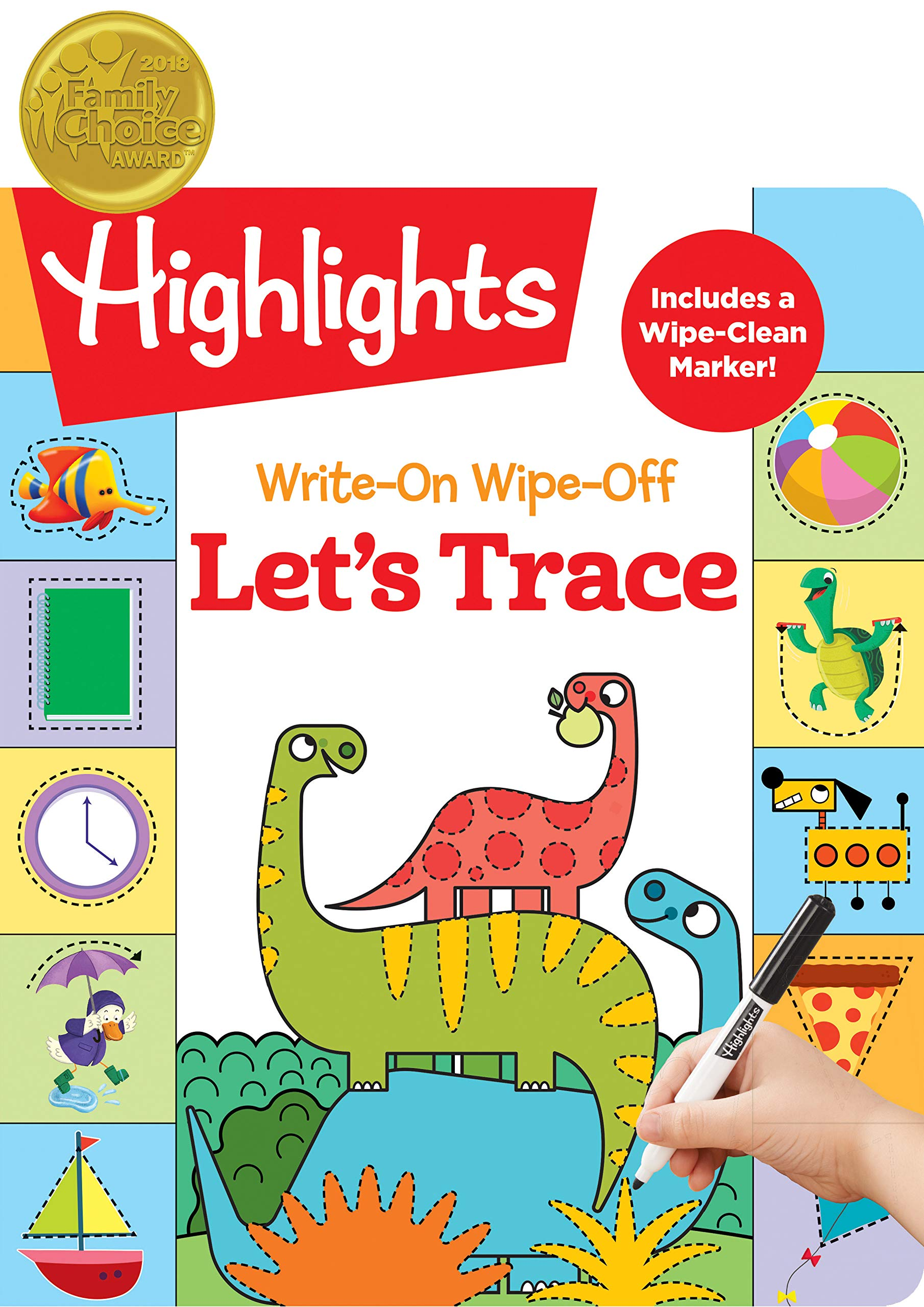 Write-On Wipe-Off Let's Trace (Highlights™ Write-On Wipe-Off Fun to Learn Activity Books)