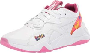 PUMA Womens Nova X Barbie Sneaker