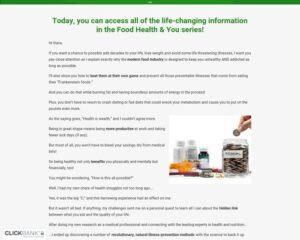 Food, Health, & You – Live Longer, Prevent & Reverse Illness