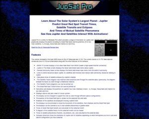 Jupsat Pro – Jupiter Observer's Software Toolkit