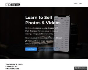 Photos For Money: Stock Creators // 1000+ Students // New To Affiliate