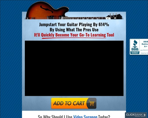 Video Surgeon for Guitarists