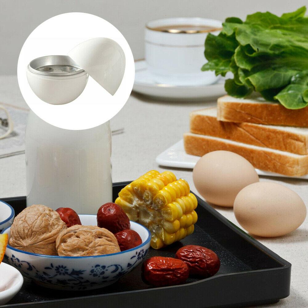 Microwave Egg Boiler 4 Egg Cooker Steamer Breakfast Poacher Lunch Snack Dinner