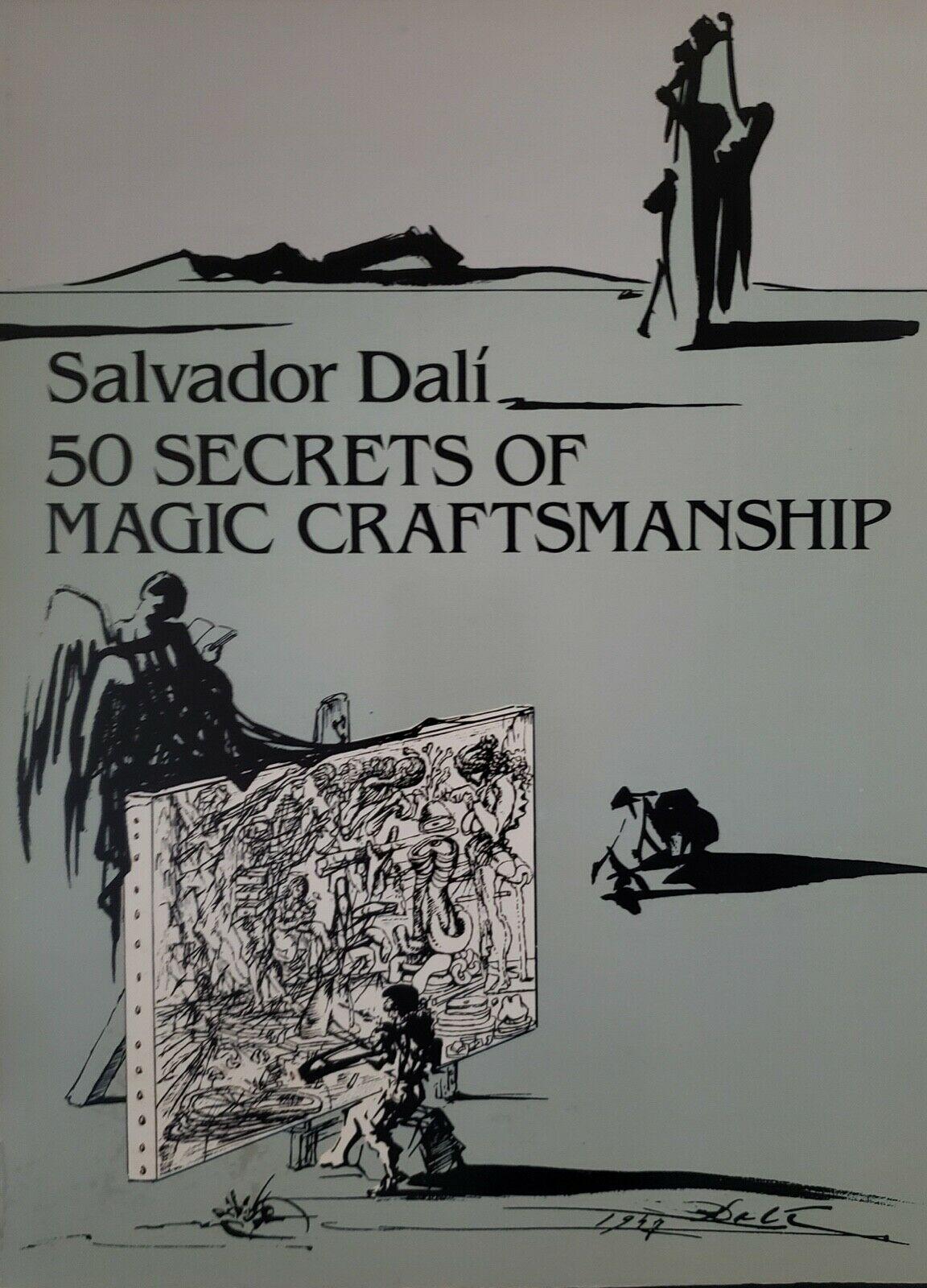 Salvador Dalí 50 Secrets of Magic Craftsmanship 1948 Reproduction Surrealism Art