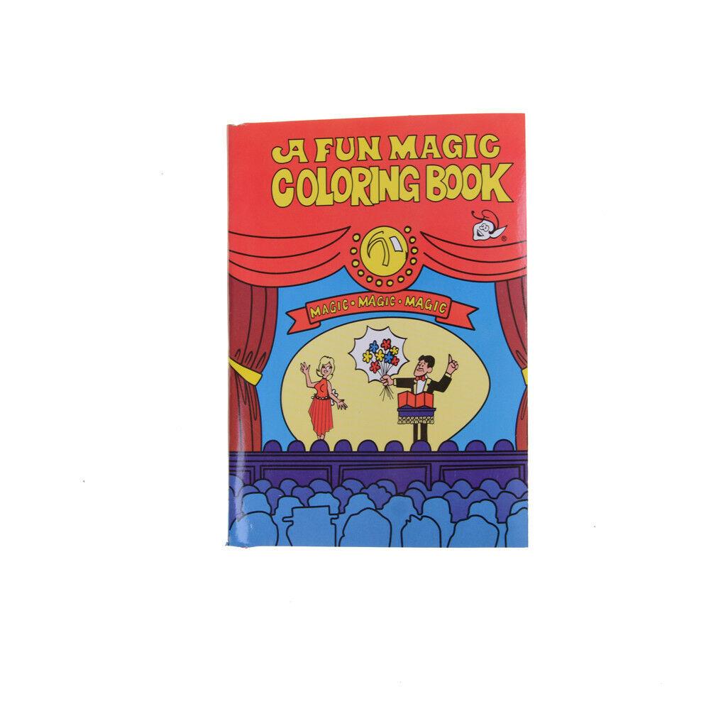 Fun Magic Coloring Book Magic Tricks Best For Children St.ft
