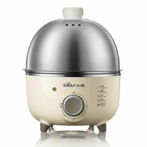 Electric Egg Steamer Boiler Household Stainless Steel Automatic Steaming Cookers