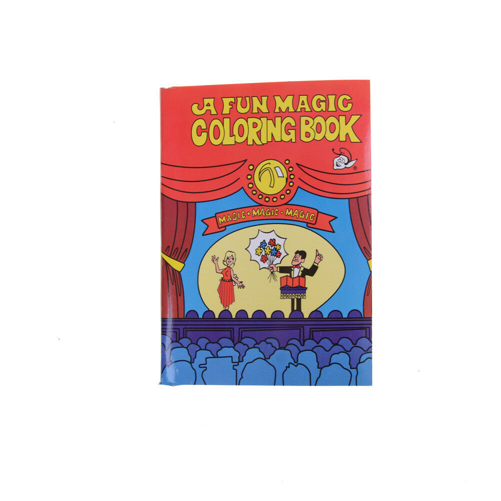 Fun Magic Coloring Book Magic Tricks Best For Children Stage Magic Toy~ei