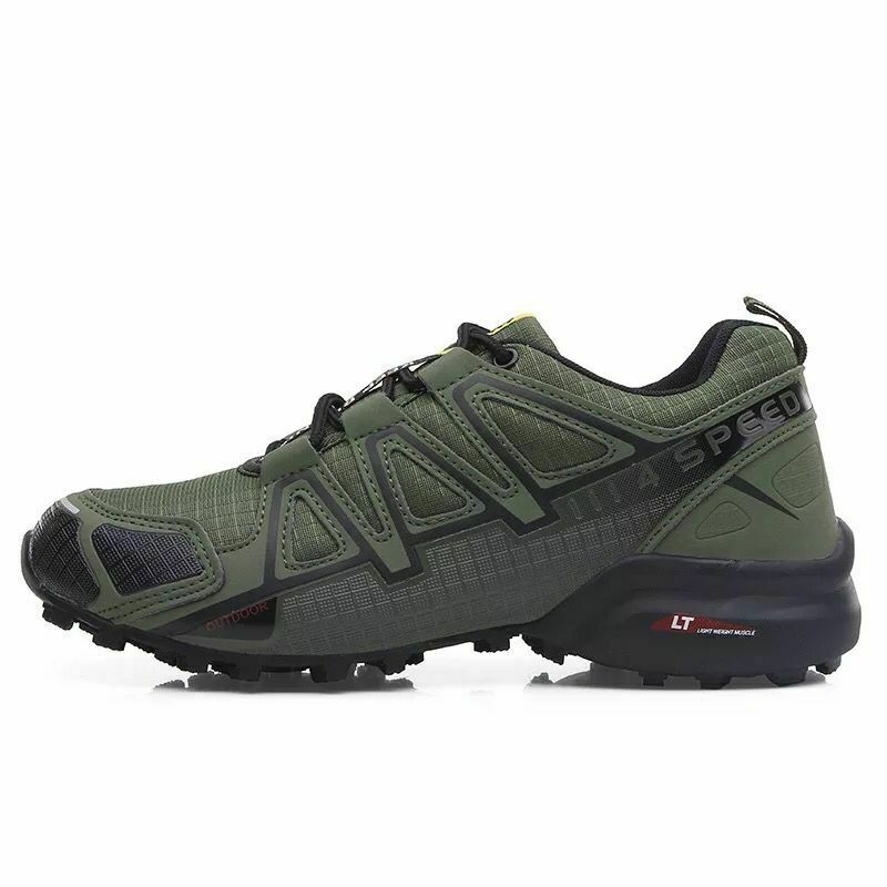 Men's Salomon Speedcross 4 Hiking Running Shoes Outdoor Trekking Sneaker Sports