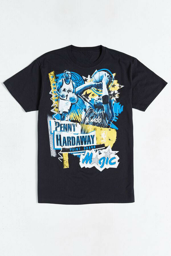Penny Hardaway Orlando Magic Vintage Player Tradition Fit T-Shirt for Men Fun…