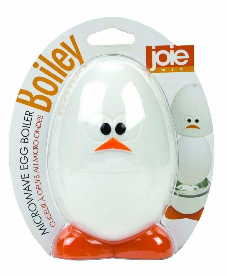 Joie Boiley Microwave Eggy Boiler Cooker – Soft Medium Hard Boiled Eggs Easily