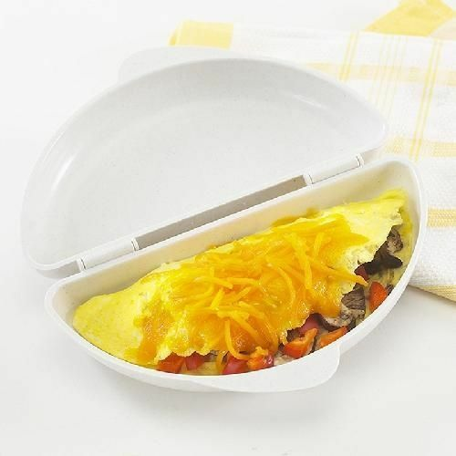Pan Microwave Omelet Nordic Ware New White Egg Maker Cooker Omelette Boiler New
