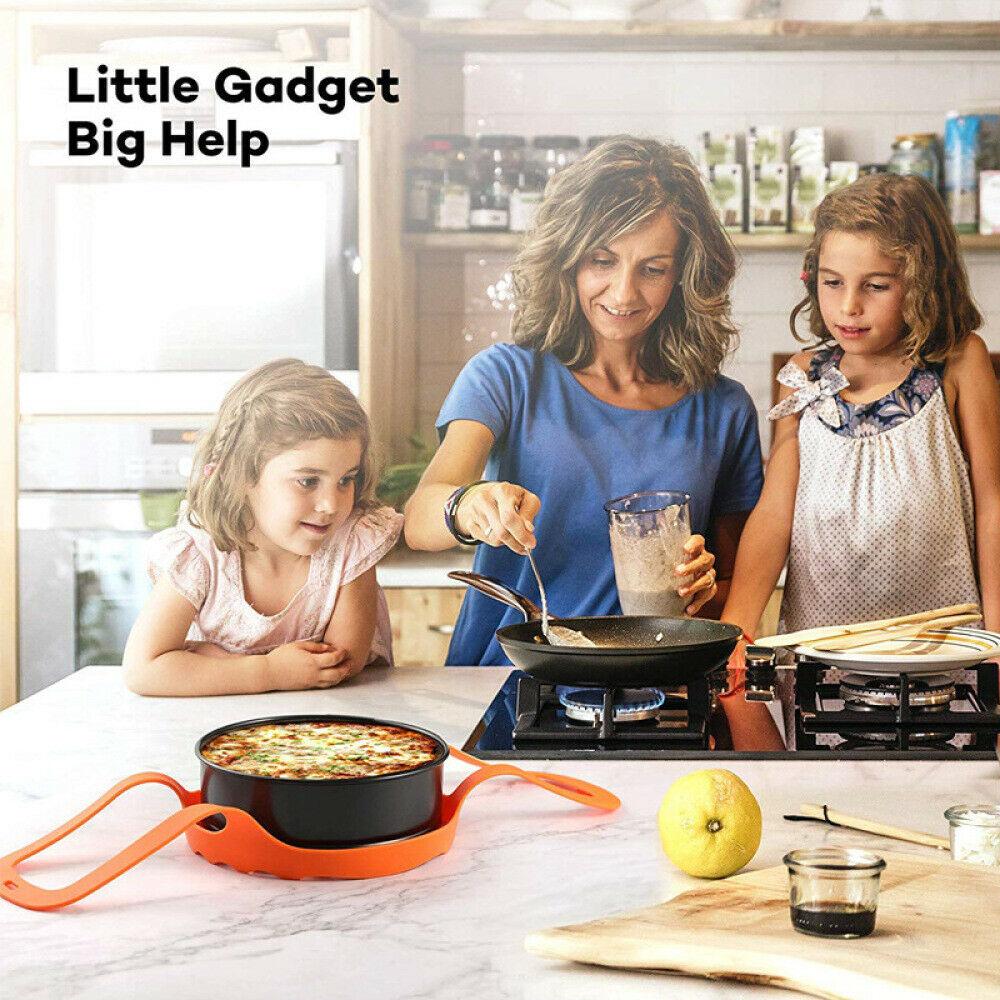 Silicone Kitchenware Egg Boiler Silicone Steamer Basket Pressure Cooker Sling