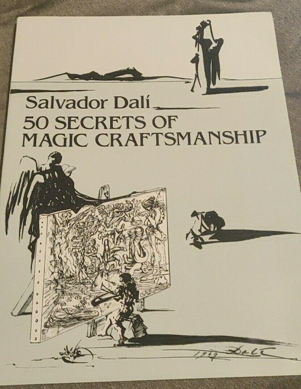 Salvador Dali 50 Secrets Of Magic Craftsmanship Book