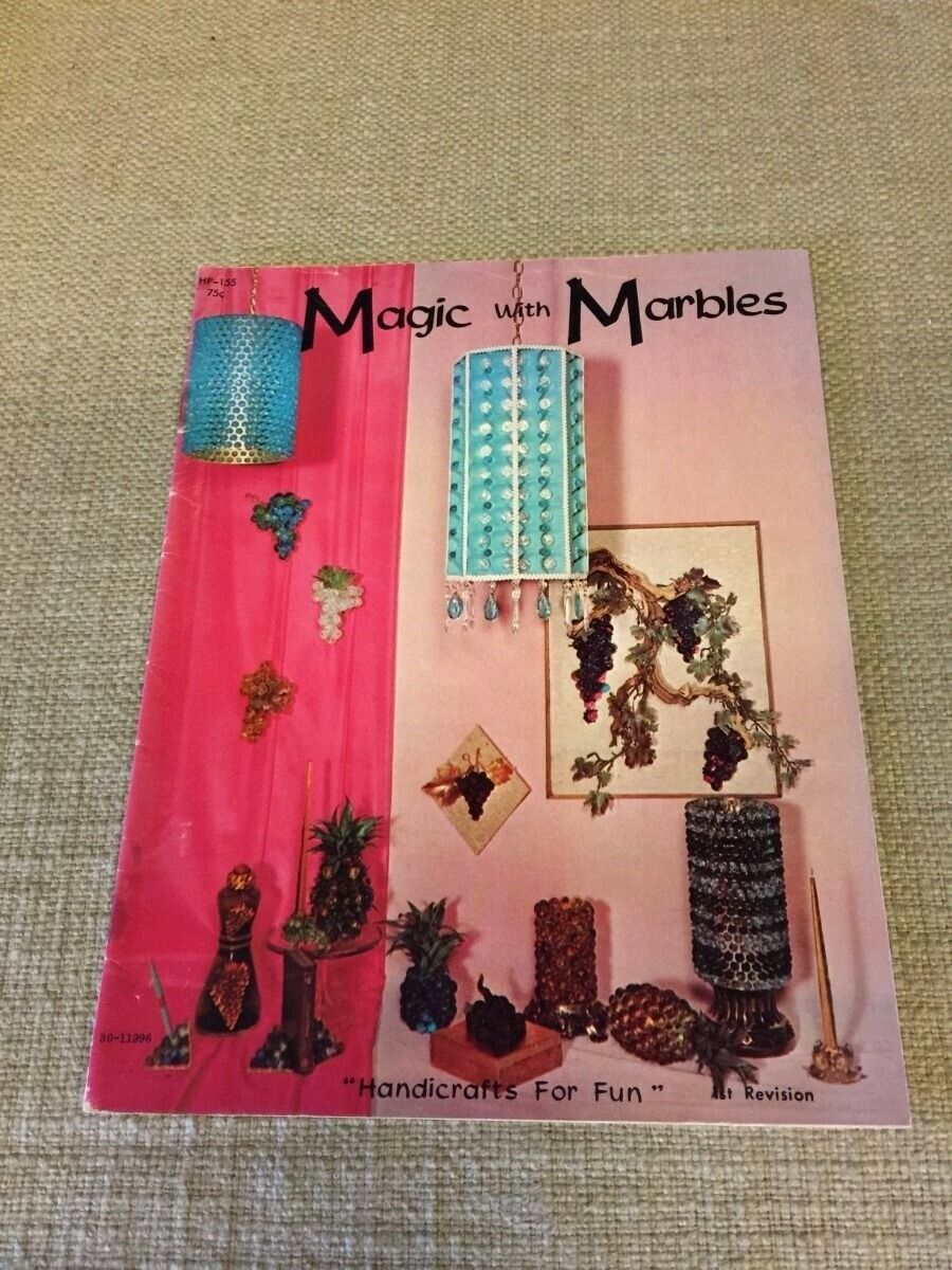 Magic with Marbles by Hazel Pearson Handicrafts for Fun 1968