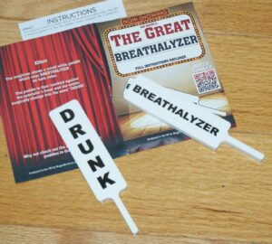 Breathalyzer Paddle–please perform responsibly.  Fun for the right crowd   TMGS