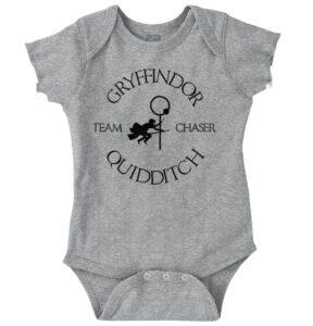 Wizard Broomstick Sport Team Magic School Fun Newborn Romper Bodysuit For Babies