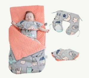 Multi-function Support Sack Neck And Back Sleeping Bags Swaddle Blanket For Baby