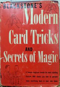 Harry Blackstone-Modern Card Tricks & Secrets of Magic-1941 Hardcover-Rare Magic