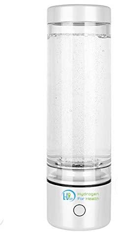 H2 Nano Hydrogen Rich Water Bottle maker with PEM Dual chamber NANO Technology
