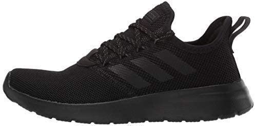adidas Men's Lite Racer RBN Sneaker, Black/Black/Grey, 13 M US