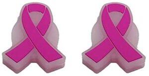 BD INNOVATION ELECTRONICS Tennis Vibration Dampener Breast Cancer Awareness Ribbon 2 Pack