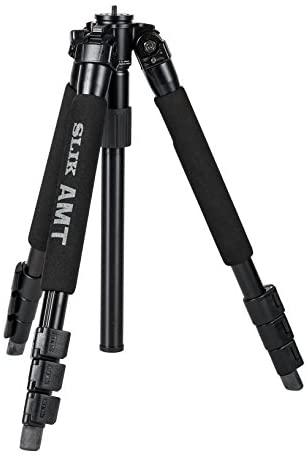 SLIK Pro 340DX Tripod Legs, for Mirrorless/DSLR Sony Nikon Canon Fuji Cameras and More – Black (613-339)
