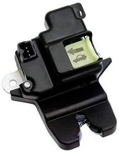 HY-SPEED 719-901 Tailgate Latch Lock Actuator Motor Rear Trunk Lid Central Latch Assembly Compatible with 2011 2012 2013 2014 2015 2016 11 12 13 14 15 16 Hyundai Elantra 81230-3X010 812303X010