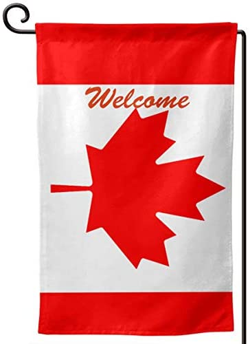Falsdqhjwoeo Flag of Canada Flag 12.5 X18in Party Flag Home Flag Garden Flag Outdoors Flag