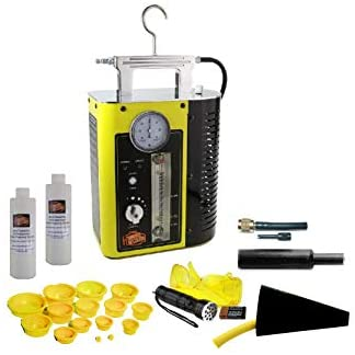 CPS Products GLD40-Yellow Smoke Wizard Diagnostic Smoke Machine, with OEM-Approved Diagnostic Smoke Technology and UltraTraceUV Dye Solution