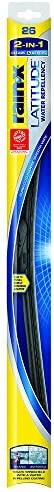 Rain-X 5079281-2 Latitude 2-in-1 Water Repellency Wiper Blade – 26-inches