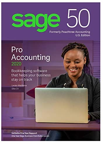 Sage Software Sage 50 Pro Accounting 2020 U.S