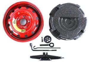 Genuine Hyundai Accessories 09100-3Y111 Spare Tire Wheel Kit for Hyundai Elantra