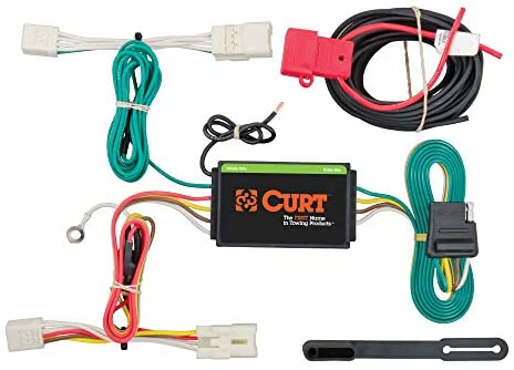 CURT 56233 Vehicle-Side Custom 4-Pin Trailer Wiring Harness for Select Hyundai Elantra