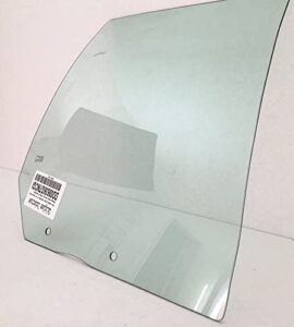 NAGD Compatible with 2001-2006 Hyundai Elantra 4 Door Hatchback Passenger Side Right Rear Door Window Glass