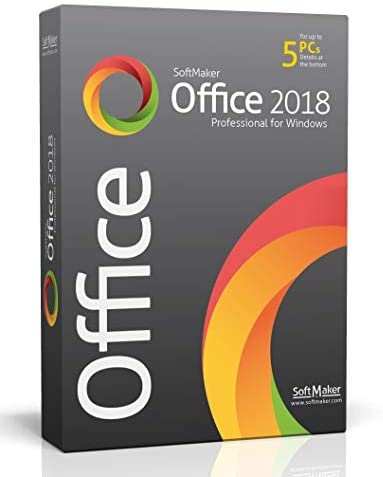 SoftMaker Office – Word processing, spreadsheet and presentation software for Windows 10 / 8 / 7 – compatible with Microsoft Office Word, Excel and PowerPoint – for 5 PCs