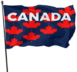 Home Decor Canada Maple Leaf Garden Flags for Yard with Bright Color Without Flag Pole