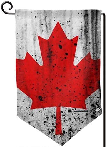 Jsvnoid Jlvdfm Canada Flag Home Garden Flag Vertical Double Sided 12.5 X 18 Inch